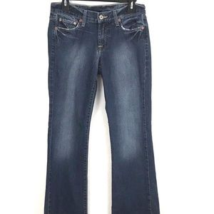 Lucky Brand Jeans Size 4 Boot Cut Stretch Denim
